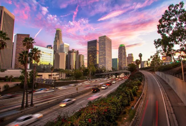 洛杉磯市近年來悄悄向新興產業基底轉型。(Getty Image)