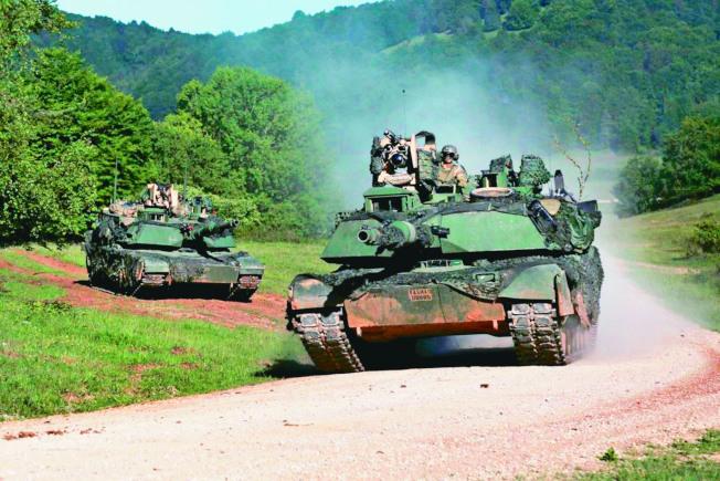 美國批准一批價值687億台幣對台軍售案,圖為M1A2戰車。(取材自美國國防部網站)