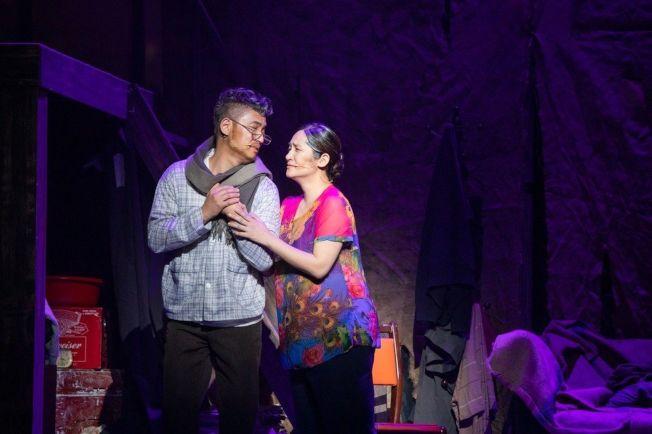 羅美玲(右)首度加入音樂劇「搭錯車」。(圖:相信提供)