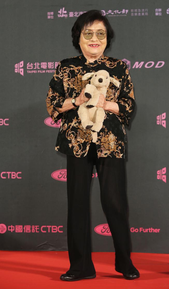 台灣演員劉引商獲得台北電影節最佳女主角。(記者徐兆玄/攝影)
