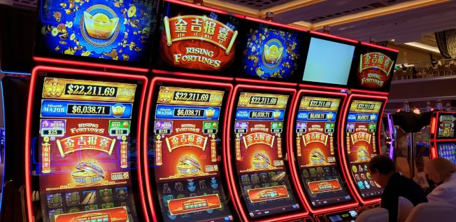 Encore波士頓海港賭場度假村開張第一周的博彩進帳1670萬元,繳納州稅 410萬元。(記者唐嘉麗/攝影)