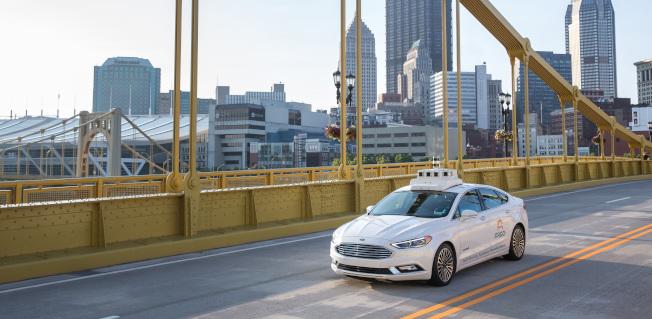 自駕車平台公司Argo AI估值高達70億元。(Argo AI)