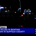 紐約上州華裔夫婦駕船出海被撞翻  妻溺亡