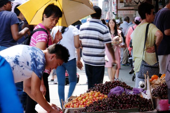 不少中國人移民美國,在華人社區裡各自上演不同的人生故事。(記者曹健╱攝影)