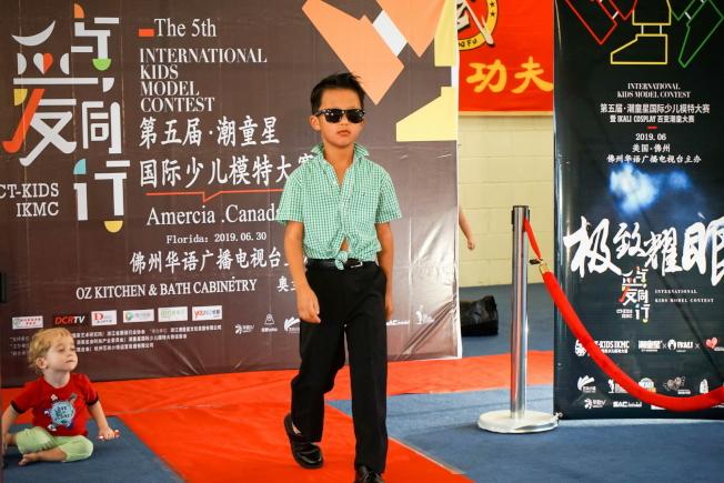 獲最佳化妝獎的Tintsz Yang。(圖:王棟提供)