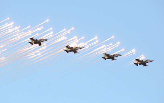 解放軍近期軍演,可能五大軍種全部參演。(歐新社資料照片)