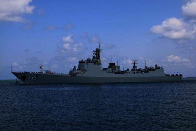西安艦7月1日抵達法國南部土倫軍港,開始為期五天的軍事交流,並於7月11日離開法國土倫軍港。(取材自觀察者網)