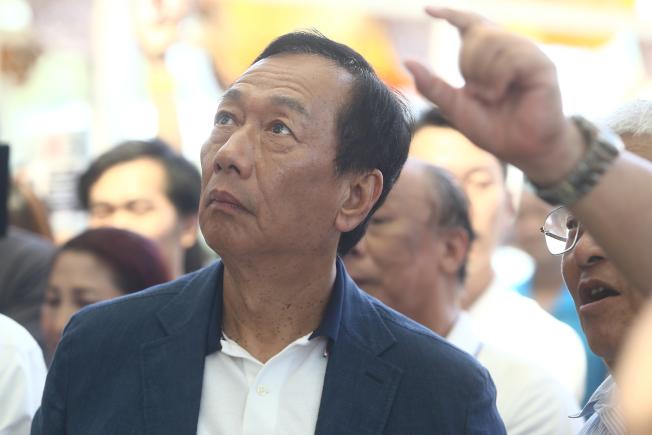 國民黨總統初選參選人郭台銘15日未現身,未來動向備受矚目。(本報資料照片)