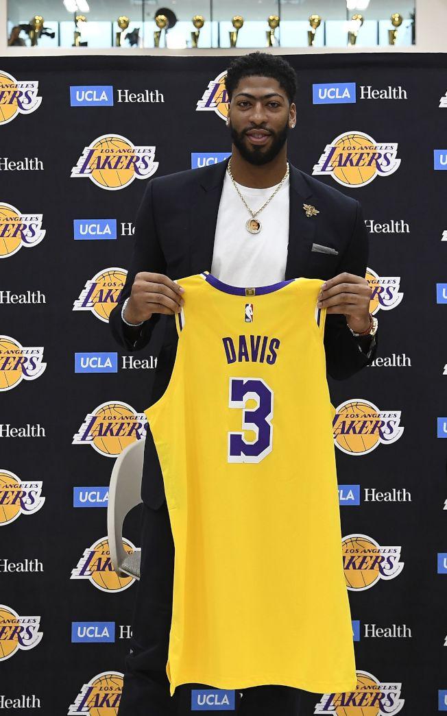 戴維斯專注在為湖人隊備戰新球季。(Getty Images)
