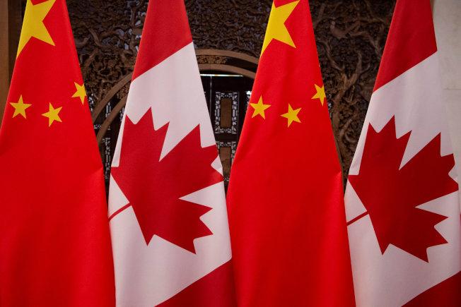 中加關係日益緊張,加拿大是否願意讓華為主導下一代電信網絡的重要部分,受到各方矚目。(路透)