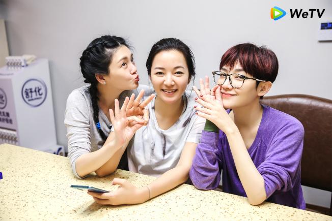 大S(左起)、阿雅、范曉萱。(圖:WeTV提供)