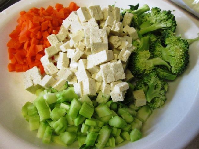 綠花椰菜豆腐濃湯材料