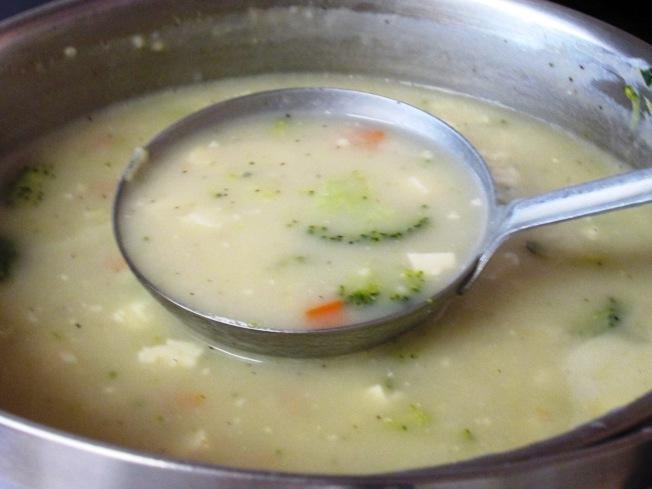 綠花椰菜豆腐濃湯
