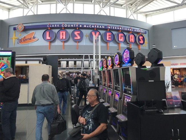 2014年拉斯維加斯賭場對華人客戶申請信用貸款頗為寬鬆。(特派員黃惠玲/攝影)