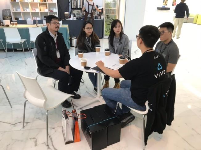 參賽團隊討論項目。(台北科技大學管理學院網站)