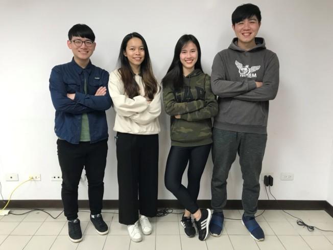 台北科技大學管理學院學生團隊。 (劉正信提供)