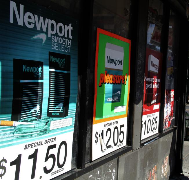 紐約州購菸年齡限制將提高到21歲。(記者洪群超/攝影)