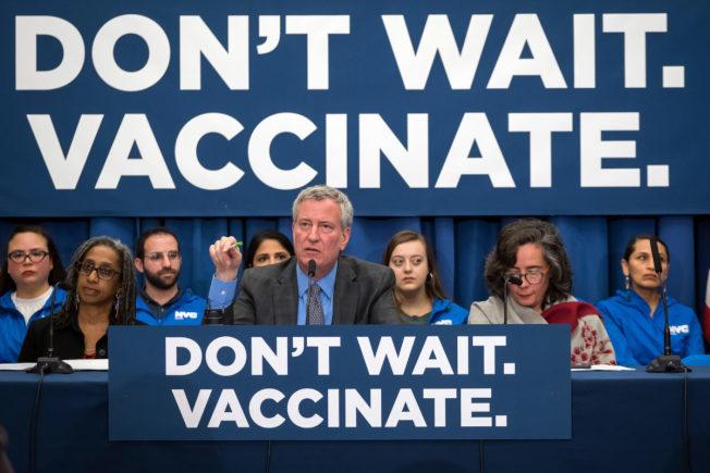 4月起,市長白思豪宣布全市進入衛生緊急狀態,麻疹疫情蔓延趨緩。(本報檔案照)