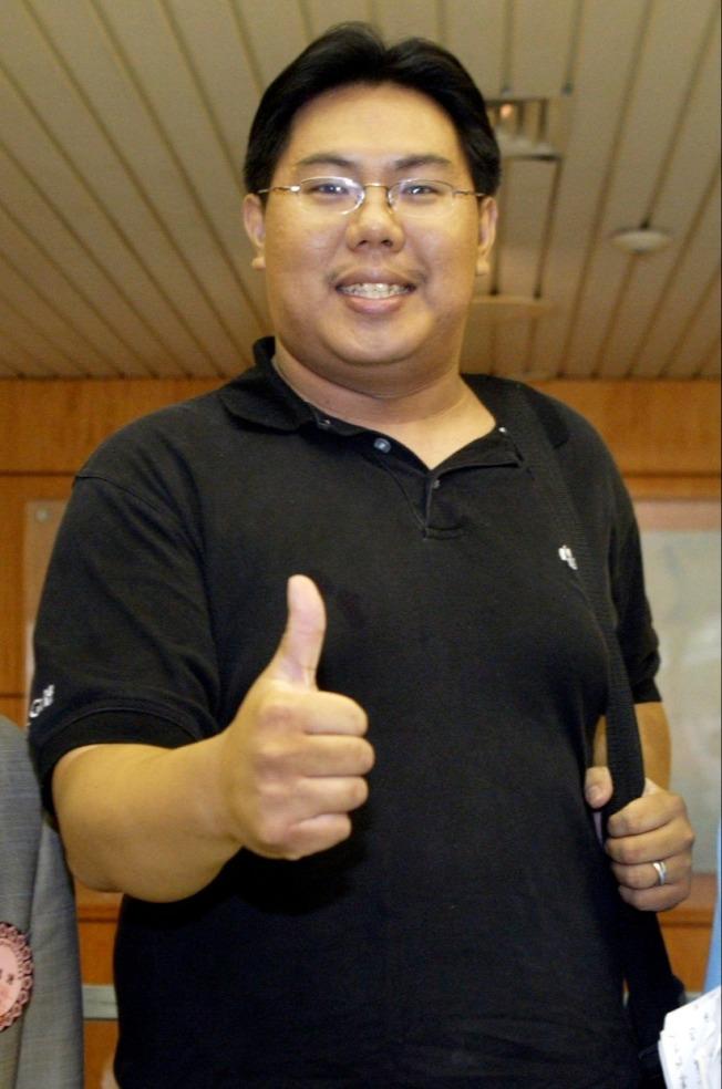 時代力量原住民立委高潞.以用辦公室主任陳士章(圖)。(本報資料照片)
