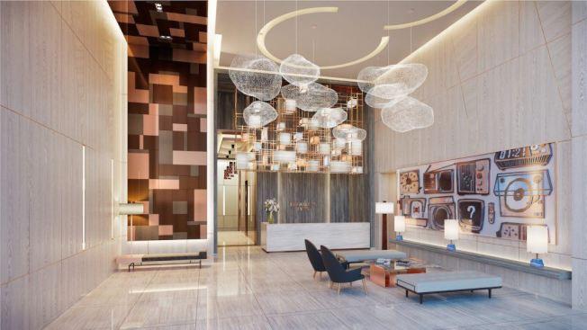 布碌崙點大廳設計高端現代。(取自布碌崙點網站)