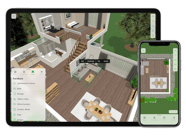 「Planner 5D」讓完全沒有專業基礎的人也能做室內設計簡單的模型。(Planner 5D官網)