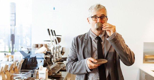 「藍瓶咖啡」創辦人弗利曼把對咖啡的熱愛變成7億元的品牌。(取自推特)