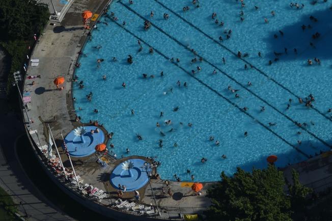 應對熱浪,全市公共泳池將延長開放時間。(市長辦公室提供)