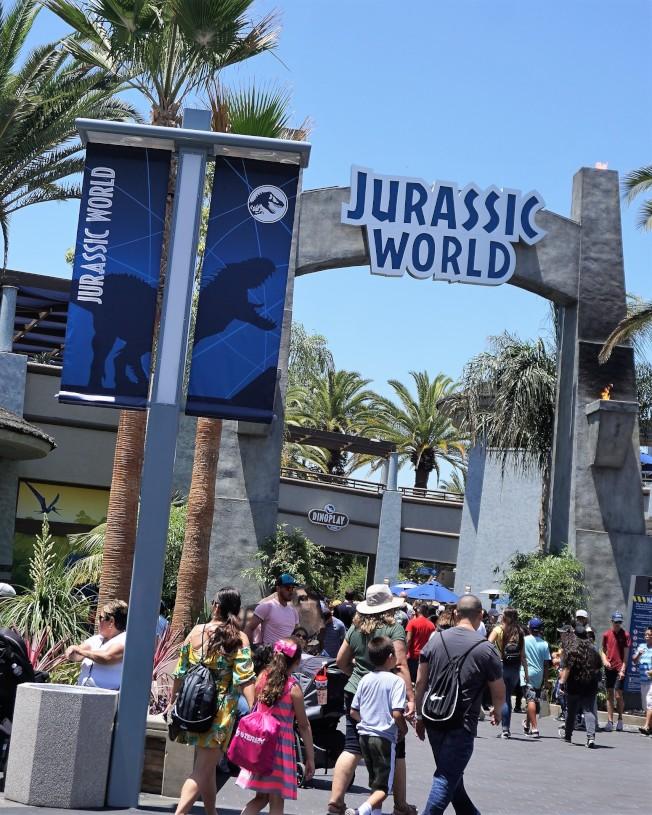 「侏羅紀世界之旅」重新開幕。(記者馬雲/攝影)