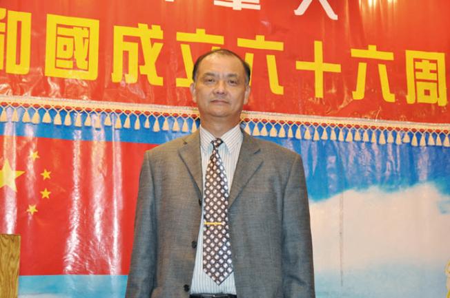 華商總會會長張福明也宣布本周四舉行治安研討會。(本報檔案照片)