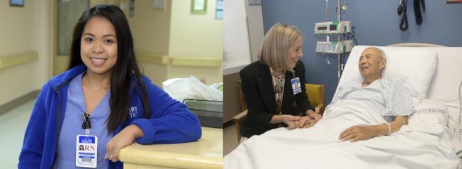 Calvary臨終關懷醫院擁有最貼心的照護和親切富愛心的護理註冊護士。