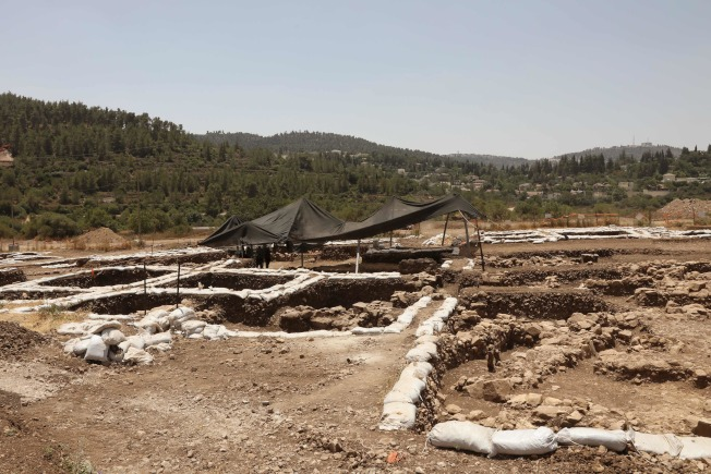 以色列文物局在為新高速公路進行探勘時,意外在漠薩(Motza)地區發現了新石器時代(Neolithic Period)聚落遺址。Getty Images