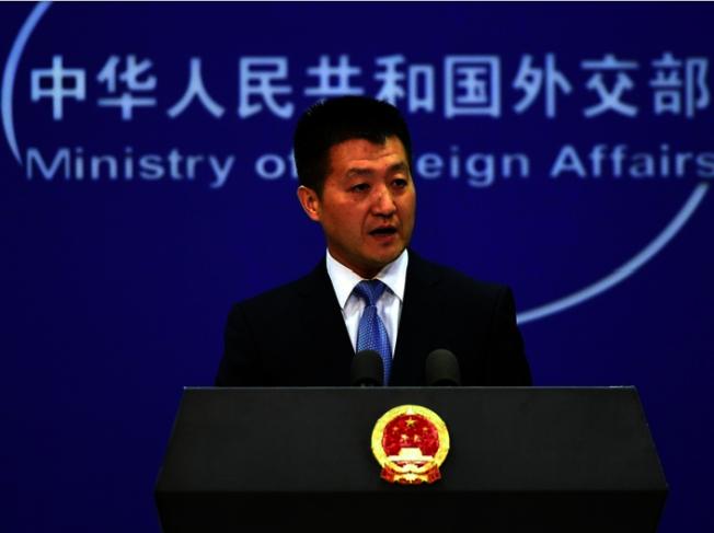 中國外交部發言人陸慷。(取材自中國外交部網站)