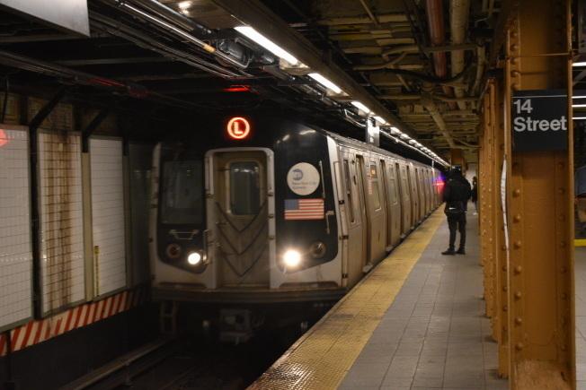 紐約地鐵周末變更。(本報檔案照)
