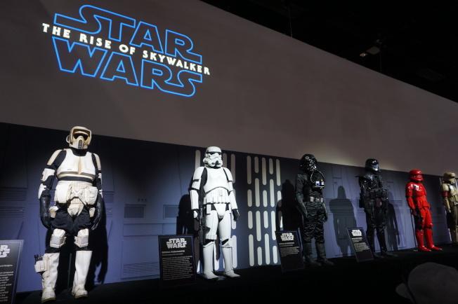 「星際大戰9」在SDCC展台。(記者馬雲/攝影)