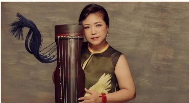 中國古琴大師、中央音樂學院古琴教授趙家珍,近日來美國演出。(葉雲川提供)