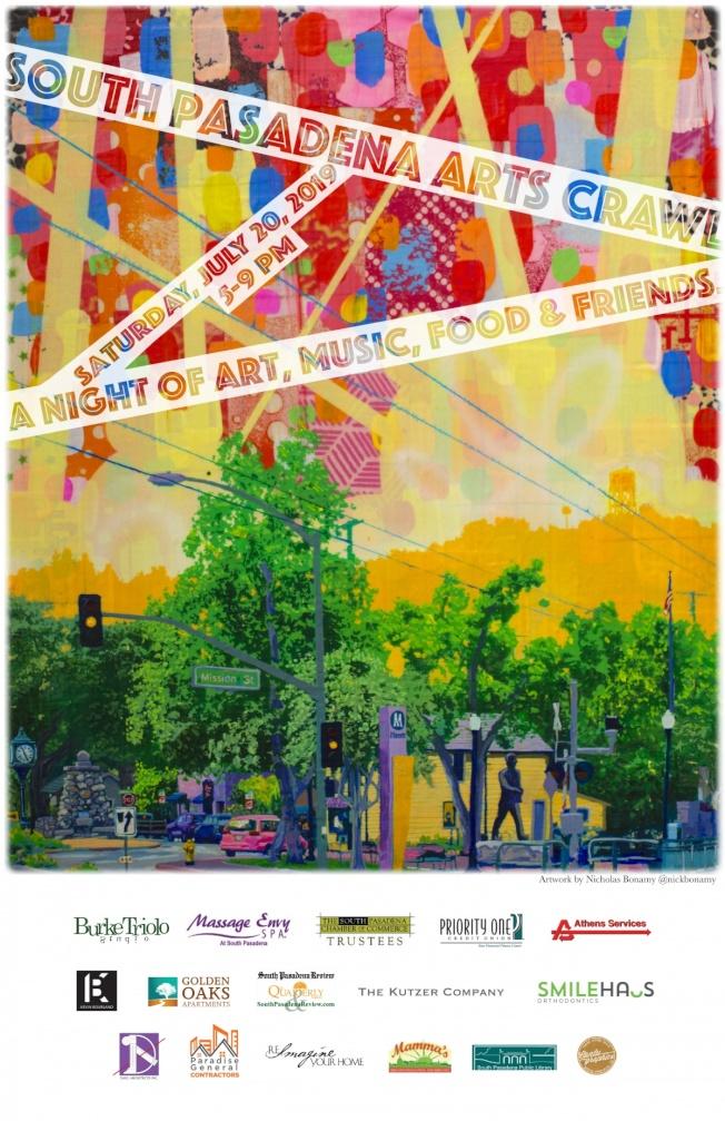 南巴沙迪那市本周末將迎來今年的夏季藝術節。(主辦方提供)