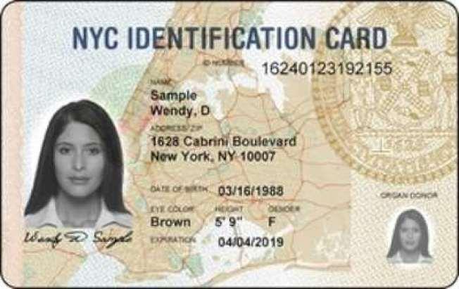 市府將對IDNYC申請規則變更進行公示,呼籲民眾表達意見。(本報檔案照)