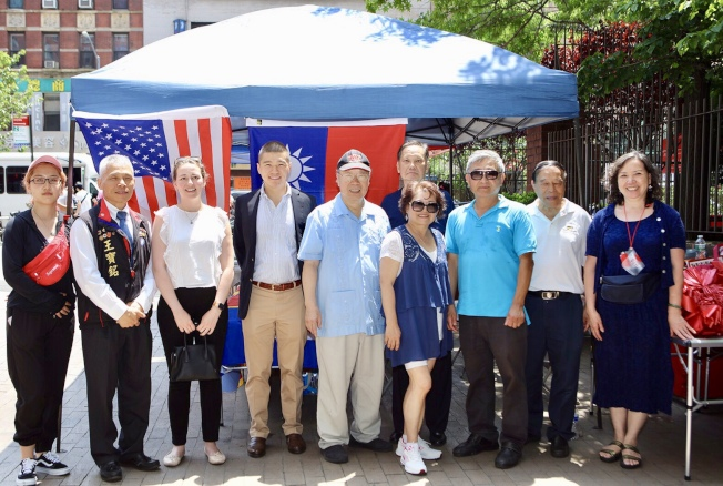美東多個社團聯合成立「大紐約韓國瑜後援會」。(後援會提供)