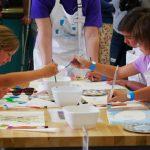 兒童探索博物館 2樓開放 親子一起來創作