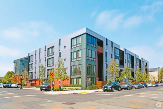 屋崙的公寓租金,今年第二季飊升了10.2%。圖為屋崙一處新建的公寓。(圖:房地產公司提供)
