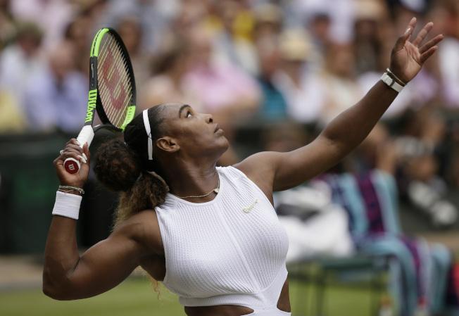 小威廉絲要力拚在家鄉土地拿到第24座大滿貫女單冠軍。(美聯社)