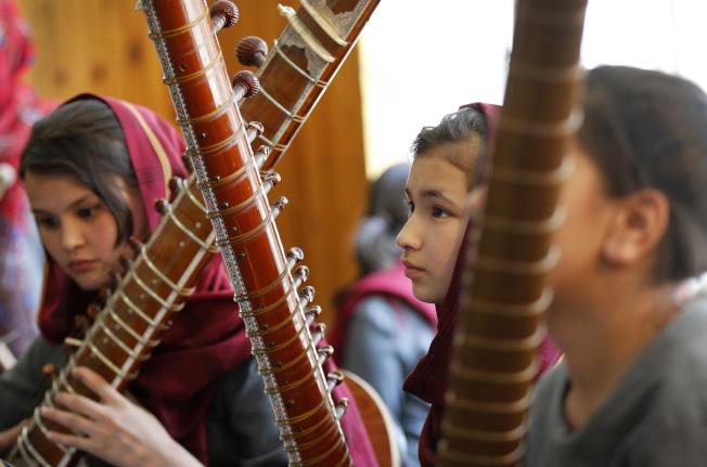 阿富汗女子管弦樂團四名團員在表演後失蹤。(歐新社)