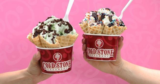 21日是全美冰淇淋日,多家業者推出超值優惠,千萬別錯過。( 取自Cold Stone Creamery官網)