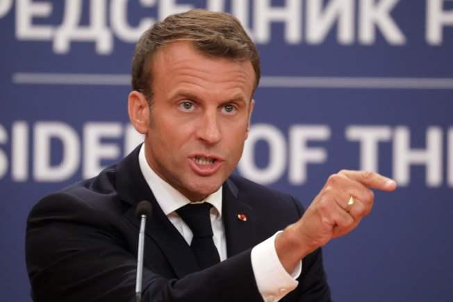 法國總統馬克宏因為「黃背心」示威暫停改革九個月以來,首次恢復改革,將鼓勵民眾延後兩年、直到年滿64歲才退休。Getty Images