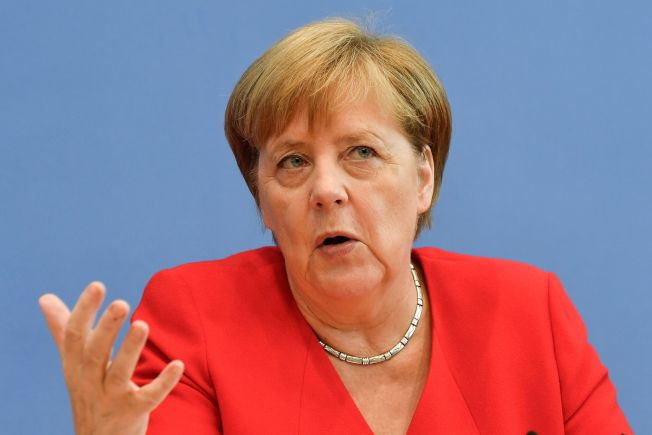 德國總理梅克爾。Getty Images