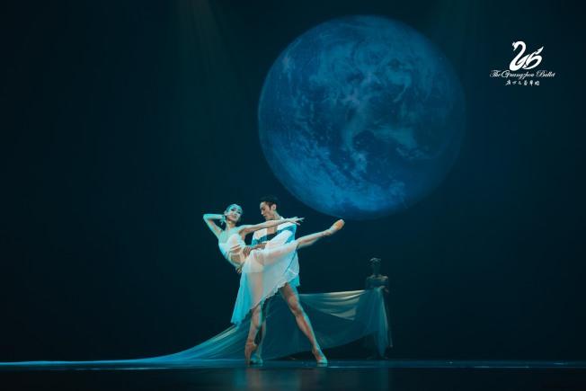 廣州芭雷舞團8月17、18日在林肯中心演出「布蘭詩歌」及「洛神」。