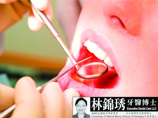 林錦琇牙醫博士說定期洗牙口腔保健是最經濟有效的對策。