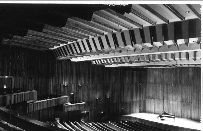 Alice Tully演奏廳於1969年9月啟用。(林肯中心室內樂協會臉書)