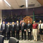 山西省代表團訪西雅圖 尋求未來合作交流機會
