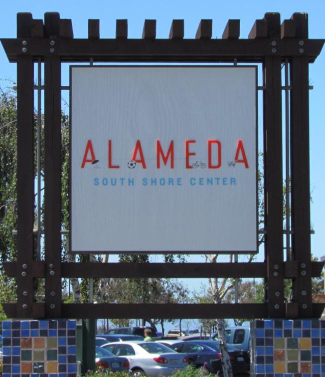 東灣阿拉米達市(Alameda)的南岸購物中心。(Getty Images)